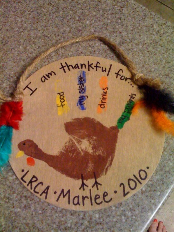sunday school thanksgiving crafts | Here is another cute Thanksgiving craft that Marlee made at school! On ...