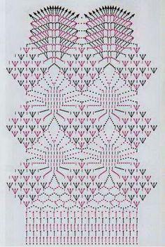 Длинная ажурная юбка вязанная крючком, схема вязания юбки | Вязаные юбки.ру