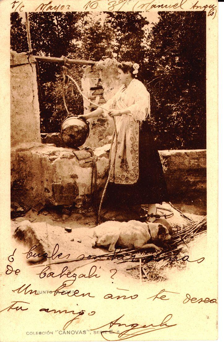 Junto al pozo, 1907