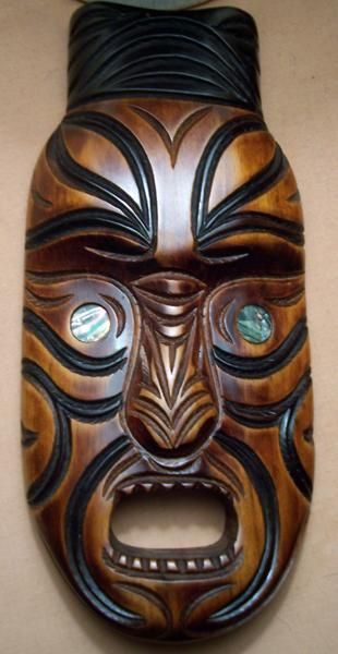 masks of new zeland | Maori mask -- Tiki Central