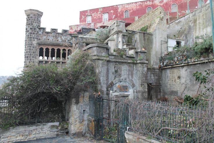 il giardino di Villa Ebe - Napoli -