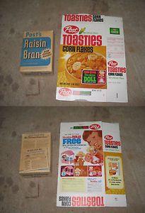 Cereal Box 1960s 1 Item Post Toasties Mattel Storykin Liddle Kiddles Hasbro | eBay