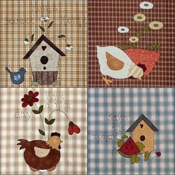 Tecidos para patchwork de diversos fabricantes (Fernando Maluhy, Eva e Eva, Coats Corrente...) em kits ou por metro
