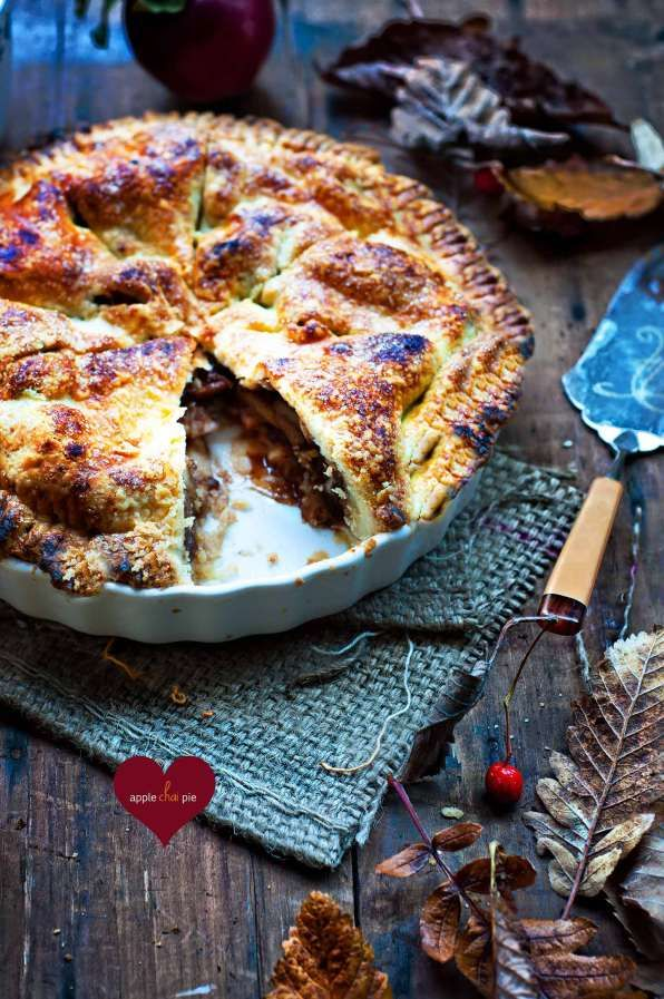 Apple Chai Pie | Cakes, pies, cupcakes...etc | Pinterest
