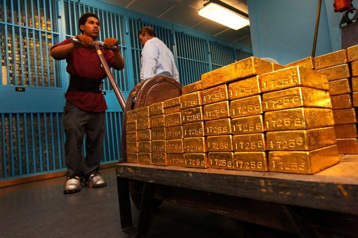 Milliardenoffensive: Zentralbanken kaufentonnenweise Gold - SPIEGEL ONLINE - Wirtschaft