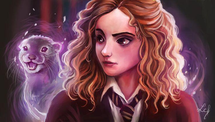 Hermione Granger by Ludmila-Cera-Foce.deviantart.com on @DeviantArt