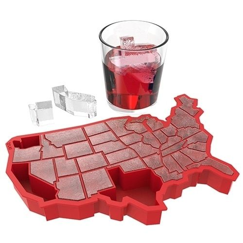 U Ice of A™ Red Silicone Ice Cube Tray by TrueZoo, Multi