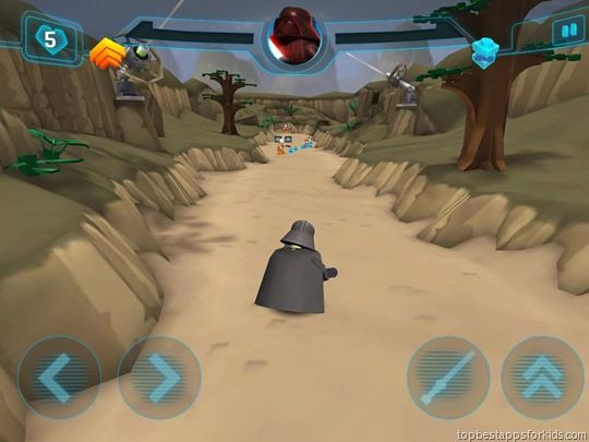 Lego Star Wars New Yoda Chronicles game App iPad Android iPhone Kindle
