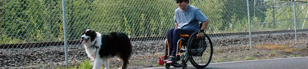 TrailLink - Offers lists of wheelchair-accessible rail trails by US state. Many of the trails have been reviewed, but not necessarily by wheelchair users.
