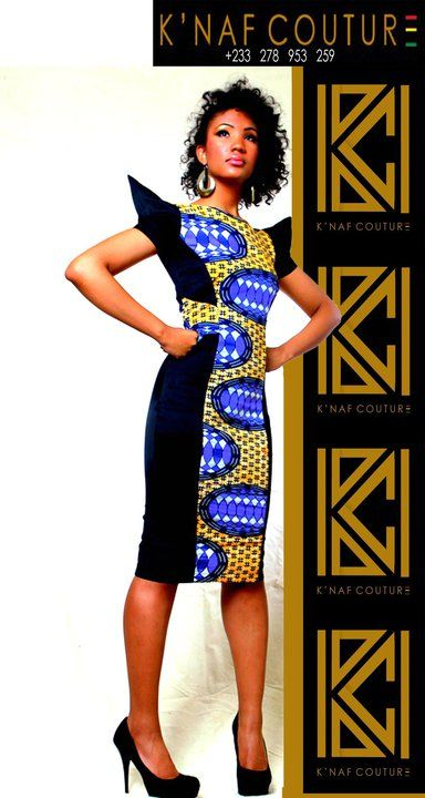 It's African-inspired. ~Latest African Fashion, African Prints, African fashion styles, African clothing, Nigerian style, Ghanaian fashion, African women dresses, African Bags, African shoes, Kitenge, Gele, Nigerian fashion, Ankara, Aso okè, Kenté, brocade. ~DK