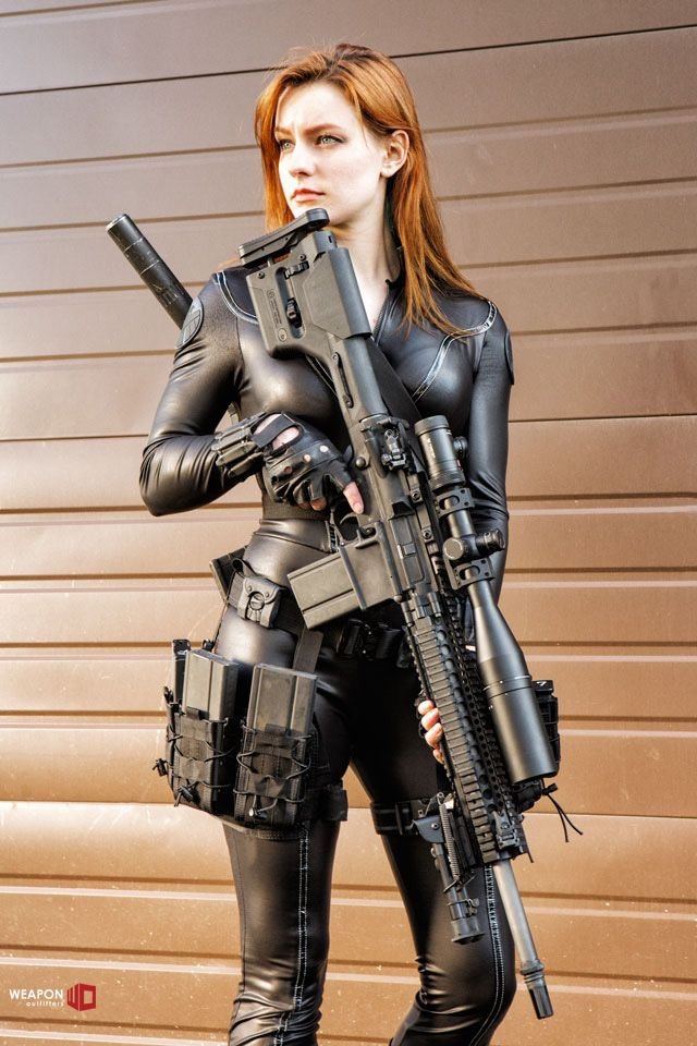 weaponoutfitters: One of the employee's Armalite pattern AR-10s gets some camera time!Offset Sights are pretty handy for long guns: http://www.weaponoutfitters.com/kac-offset-buis.htmlHigh Speed Gear Leg Rigs, v 2.0http://www.weaponoutfitters.com/hsgi-rifle-leg-rig.htmlDouble Decker Variant:http://www.weaponoutfitters.com/hsgi-double-decker-leg-rig.html