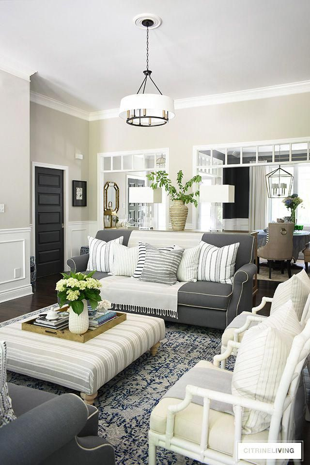 Casual Elegant Living Room: Create A Casual And Elegant Summer Living Room With