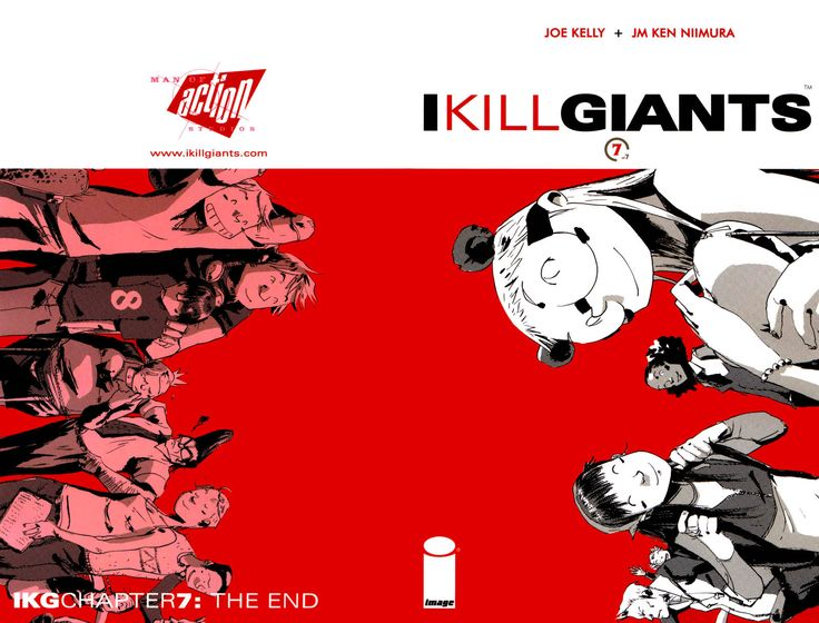 Full Cover of Chapter 7 - I Kill Giants comic