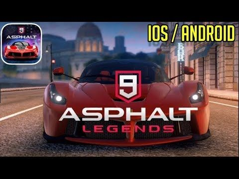 ASPHALT 9 LEGEND apk free android games download