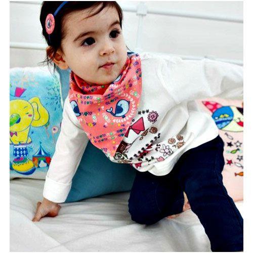 Baby and Toddler dribble bandana style bibs save 35%