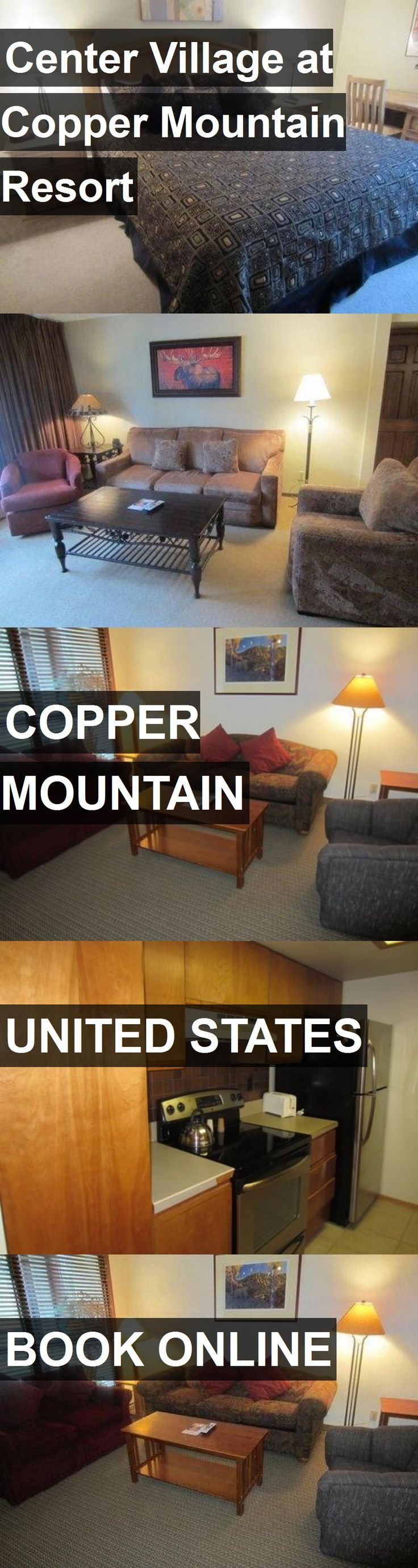 Hotel Center Village at Copper Mountain Resort in Copper Mountain, United States. For more information, photos, reviews and best prices please follow the link. #UnitedStates #CopperMountain #CenterVillageatCopperMountainResort #hotel #travel #vacation