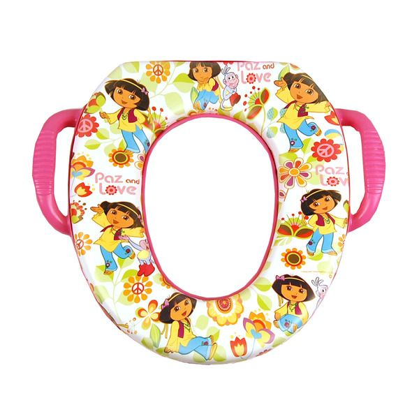 dora peace u0026 love soft potty seat