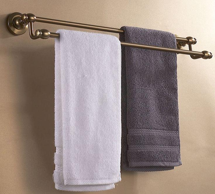 Античная двойное адвокатское сословие полотенца ванная комната вешалка для полотенец для ванной комнаты античная оборудование аксессуары