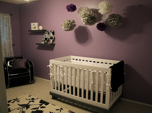 Purple Baby Girl Bedroom Ideas 63 best lavender, purple, gray baby rooms and shower ideas images