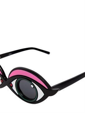 Linda Farrow  - yazbukey eyebrow acetate sunglasses