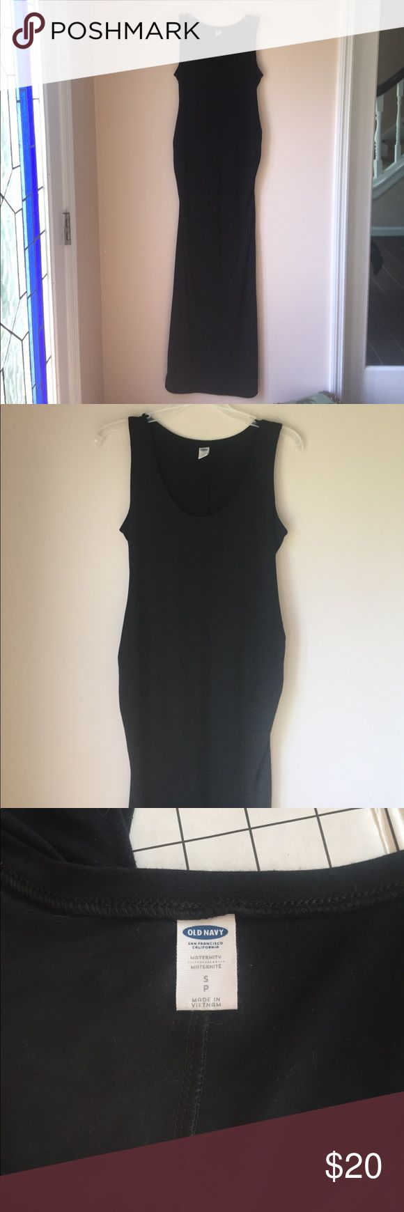 Old Navy Maternity Dress Super comfortable Maxi dress this was my favorite because I could wear it in summer and in winter with a cardigan.  It's still in EUC Old Navy Dresses Maxi