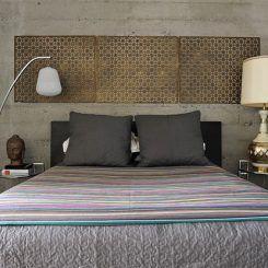 """12 quartos ecléticos para você que gosta de decoração """"pé no chão"""""""