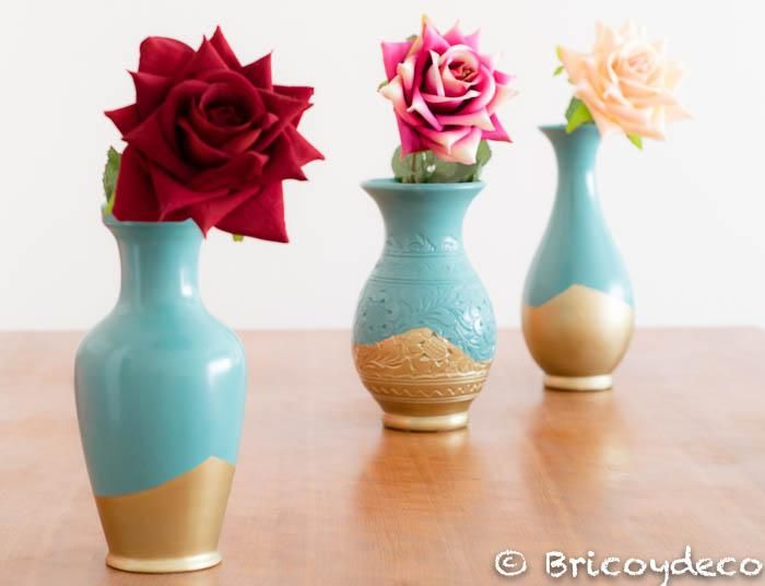 Cómo pintar porcelana con pintura en spray. ¡Es muy fácil!