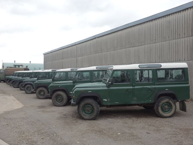Land rover 110 LHD station wagon TD5 - Search_Result_By Description - L.Jackson and Co » For Ex Army Trucks Specialist Military vehicles, Ex. Mod Sales and Nato plant and equipment for sale and export