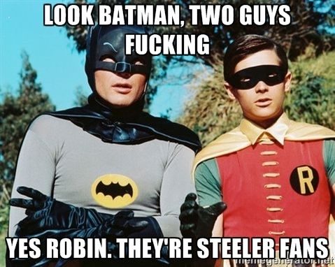 58bde1724ce1fb3e3caac78eeaa34d52 batman meme batman robin best 10 funny steelers memes ideas on pinterest football memes,Patriots Vs Steelers Memes