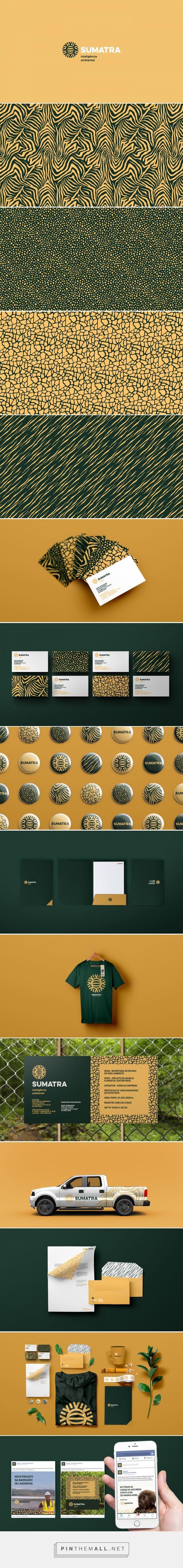 Sumatra intelligent environment Branding on Behance | Fivestar Branding – Design and Branding Agency & Inspiration Gallery