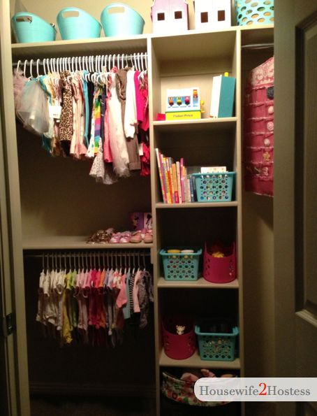 Housewife 2 Hostess : How To Organize Your Kids Closet