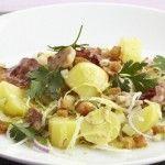 Aardappelsla met kip, krokant spek en currydressing - See more at: http://www.aardappel.be/?recipe=aardappelsla_met_kip_krokant_spek_en_currydressing#sthash.It4Mpyjj.dpuf