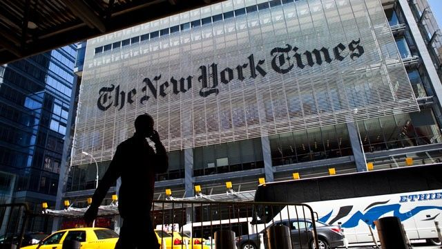 The New York Times headquarters building