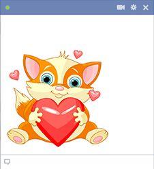 Big Heart Cat