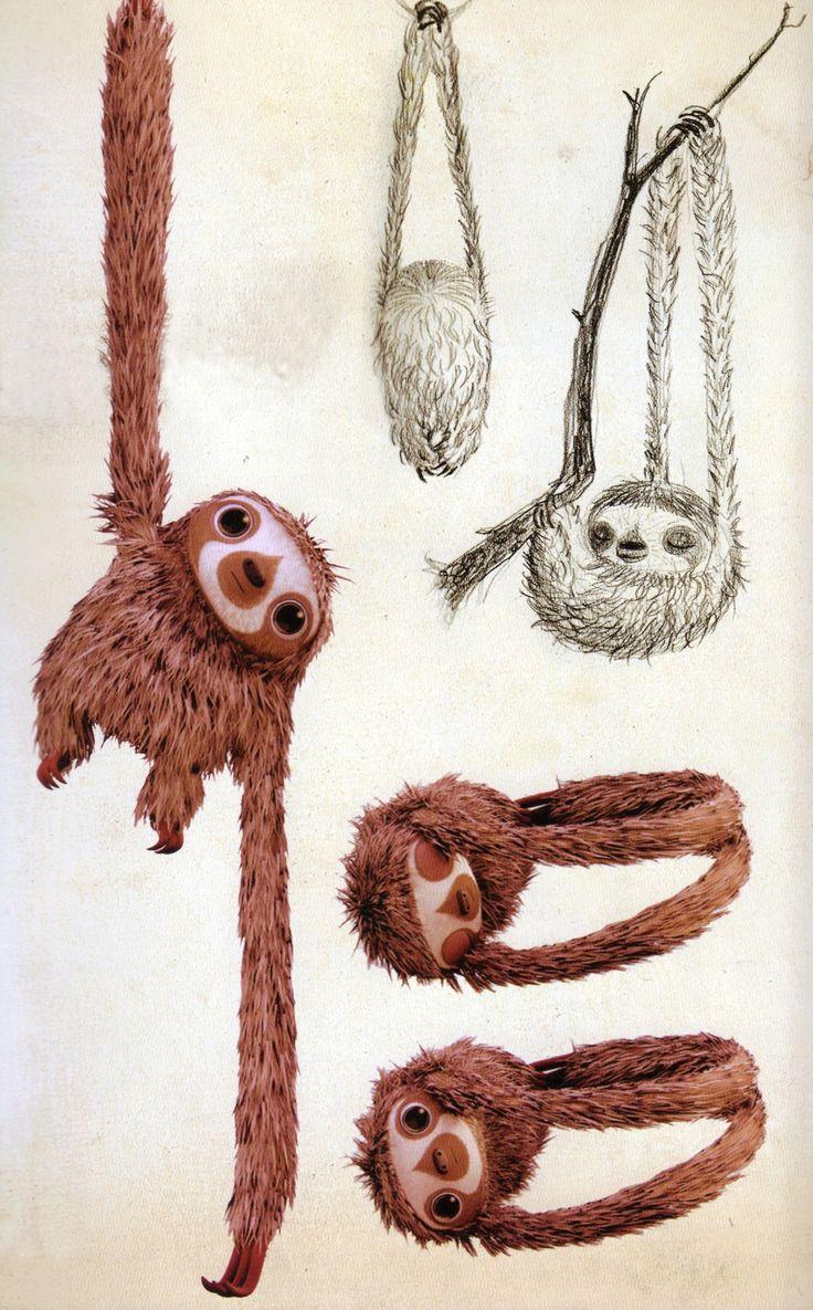 OMG so cute! The Croods | Chris Sanders