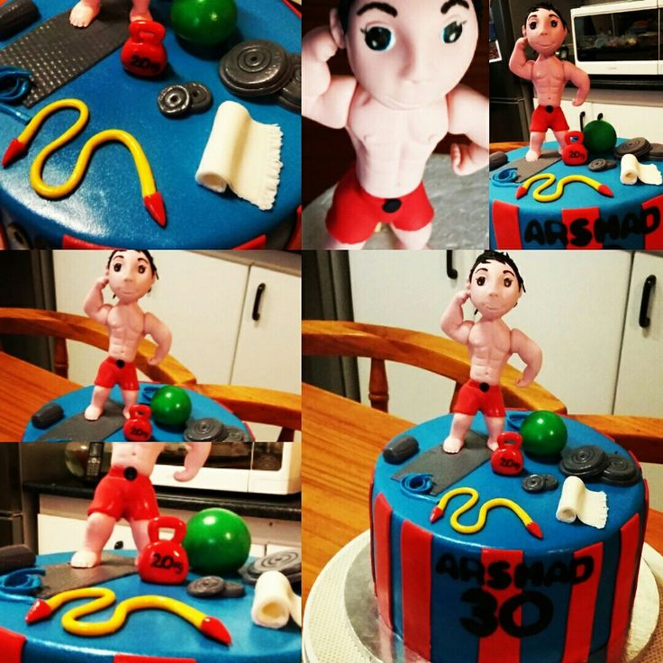 Body builder cakes
