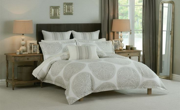 Spare room: Paisley Circles Queen Bedding Set by Sanderson beddingsquare.com.au