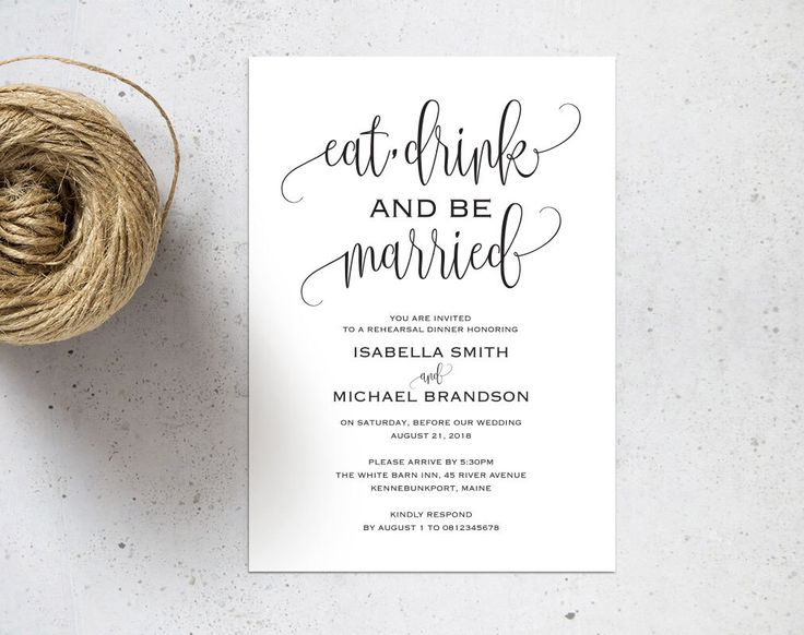 Rehearsal Dinner invitation template, rehearsal printable, modern, invitation templates, wedding rehearsal, pdf instant download, WPC_65SD2A by WeddingprintablesCo on Etsy https://www.etsy.com/uk/listing/475388248/rehearsal-dinner-invitation-template