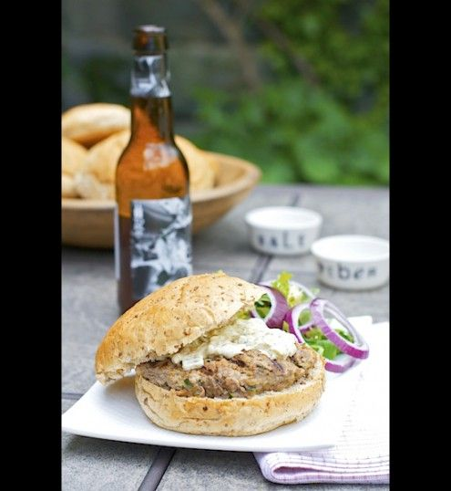 Rather drink the beer than put it in a burger? No problem, the beer just accentuates what's already there. Take it out and put directly into your belly.  By Maggie Cubbler