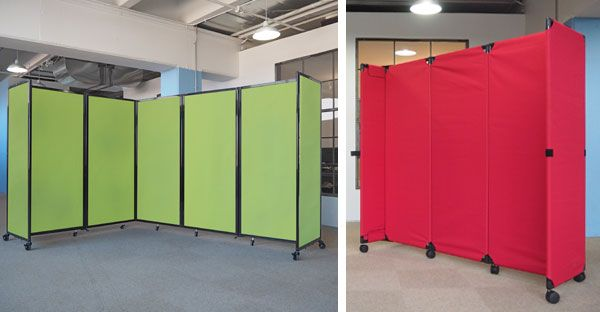 Depending on your style, we have a portable partition that will work for your space. We guarantee it.