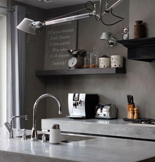 Keltainen talo rannalla: Hollantilaista tyyliä / Hollandse keuken met Quooker, praktische lamp