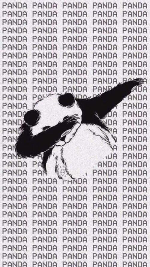 Imagen de panda, wallpaper, and background