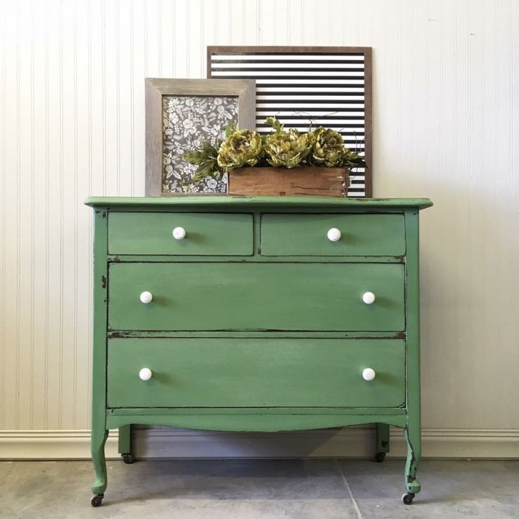 Custom Green Dresser - 1587 Best Green Painted Furniture Images On Pinterest Old