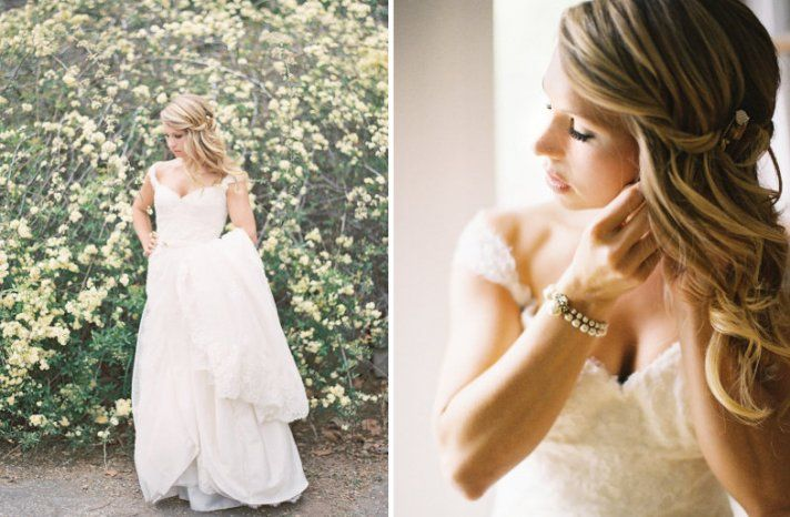 all down wedding hairstyles bridal beauty inspiration 2