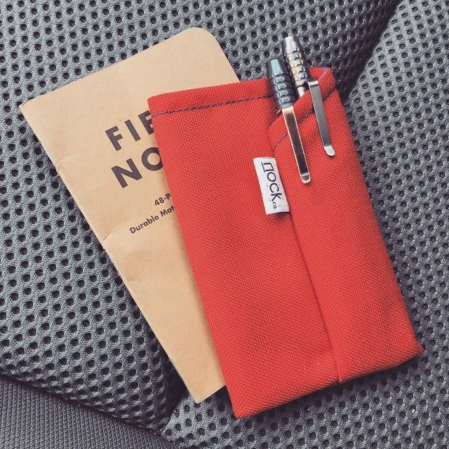 Nock Co pen case and Field Notes on the go From @heymatthew on - field note