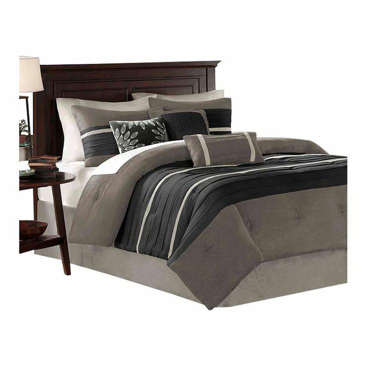 Palmer 7 Piece Comforter Set In Grey Design Ideas Pinterest Comforter And Master Bedroom