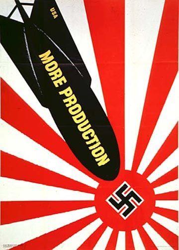 日本とナチの合体? : 外国人が作った日本への戦争風刺画【歴史】 - NAVER まとめ