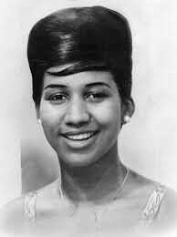 A young Aretha Franklin.  # all I can say chain chain chain.... RESPECT..
