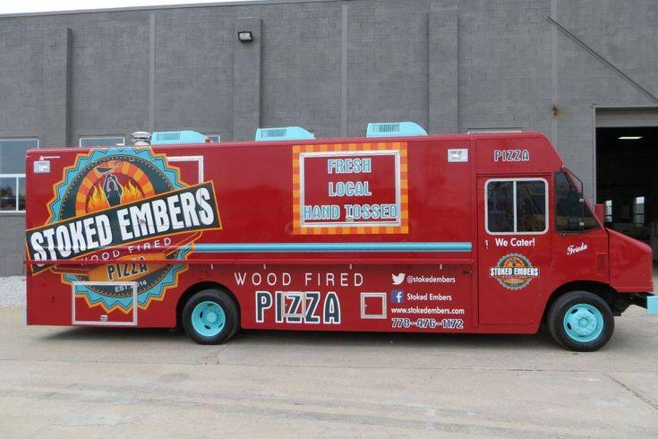 Mobil Pizza Trucks - Brick Ovens For Sale