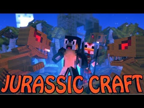 "Minecraft Dinosaurs | Jurassic Craft Modded Survival Ep 1! ""DINOSAURS TAKING OVER"" - YouTube"